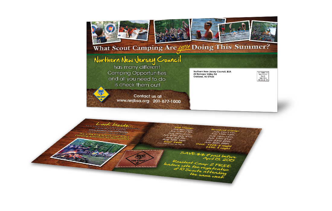 Camping Postcards - Council Solutions