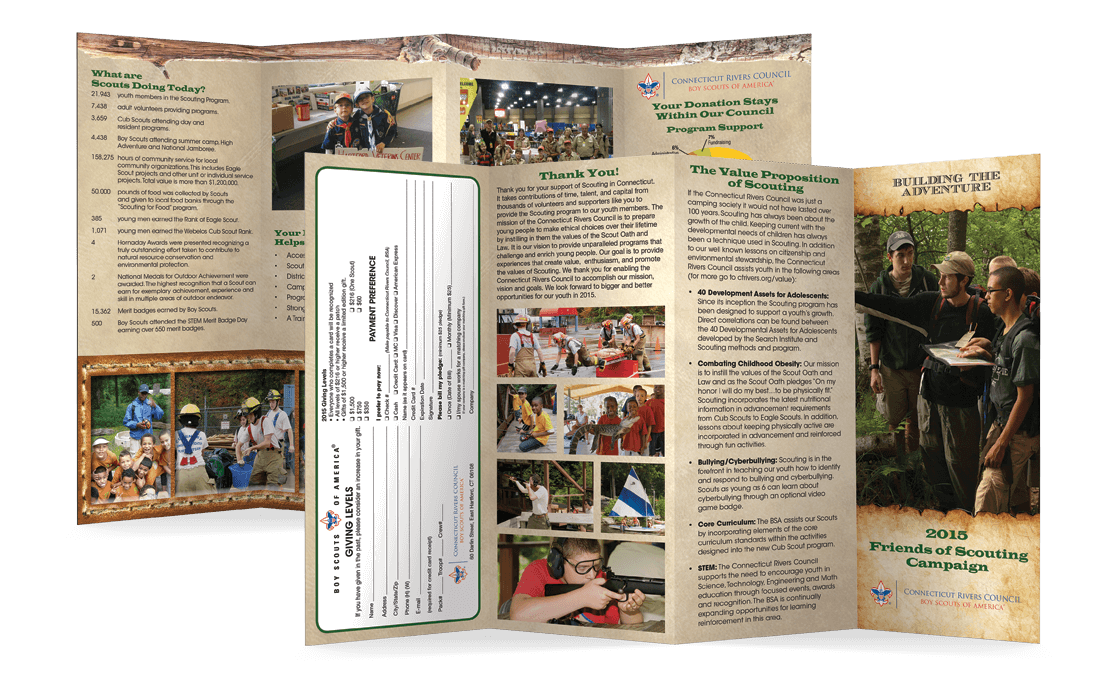 Friends of Scouting Brochures