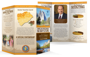 Friends of Scouting Brochures - Tri Fold