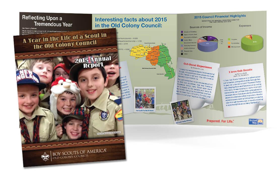 Tri-Fold Annual Report