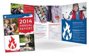 Tri-Fold Annual Reports