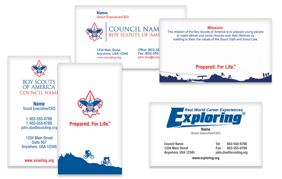 Stationery - Spectrum Boy Scout Marketing Solutions