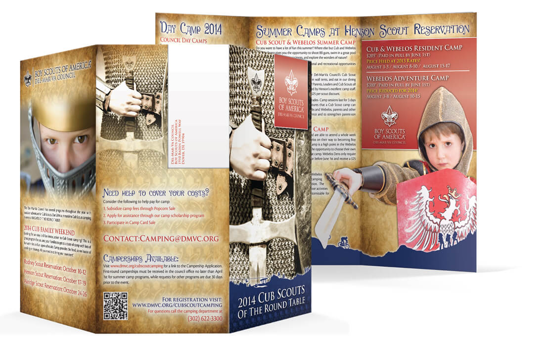 Camp Brochures - Spectrum Boy Scout Marketing Solutions