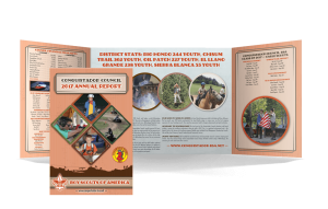 2017 Annual Report Double Gatefold mailer