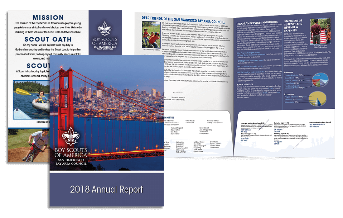 2018 Annual Report Pocket Folder