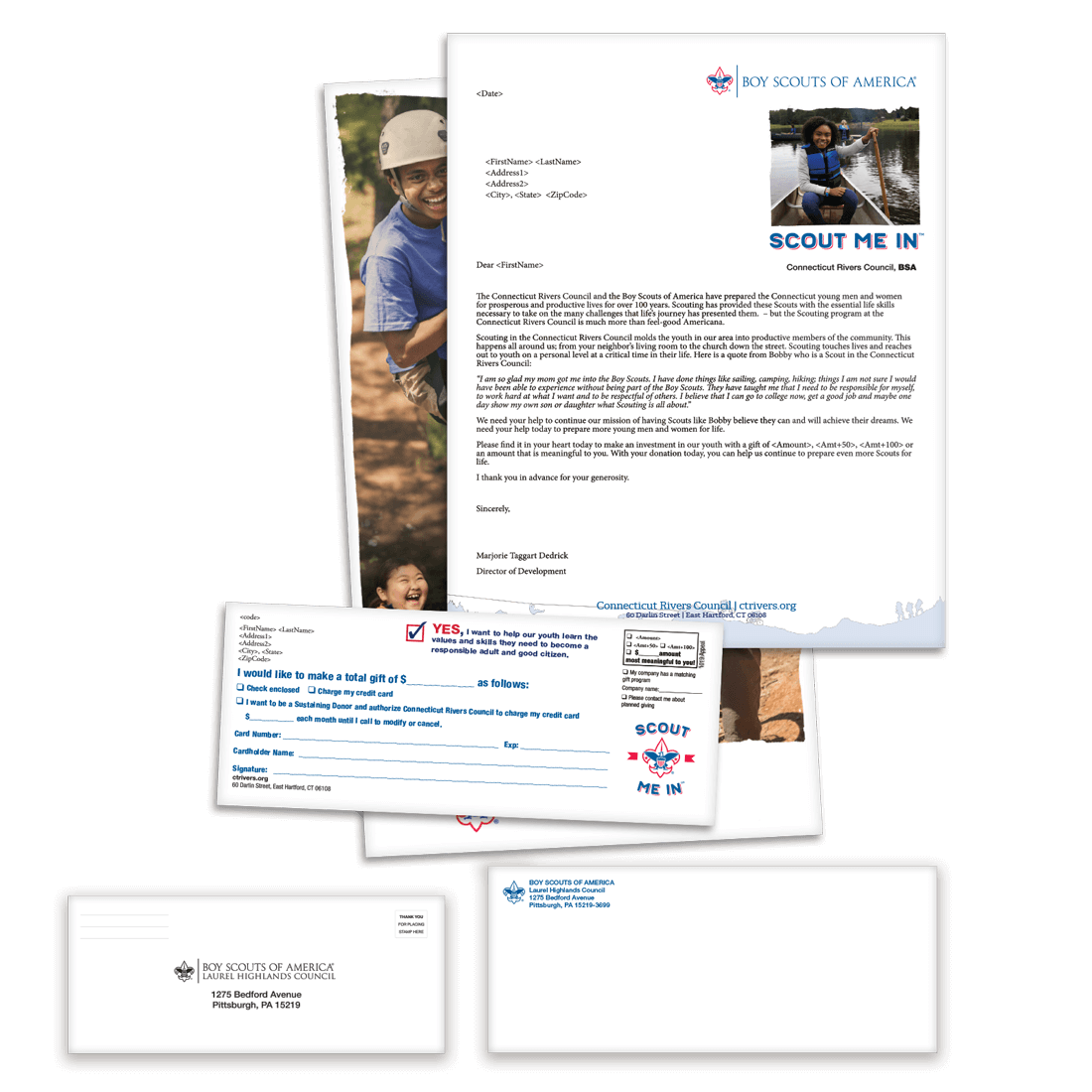 Boy Scout Direct Mail - Eagle Scout Letter Package